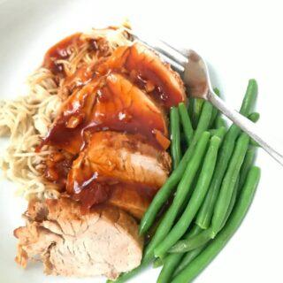 Instant Pot Asian Pork Tenderloin (21 Day Fix)