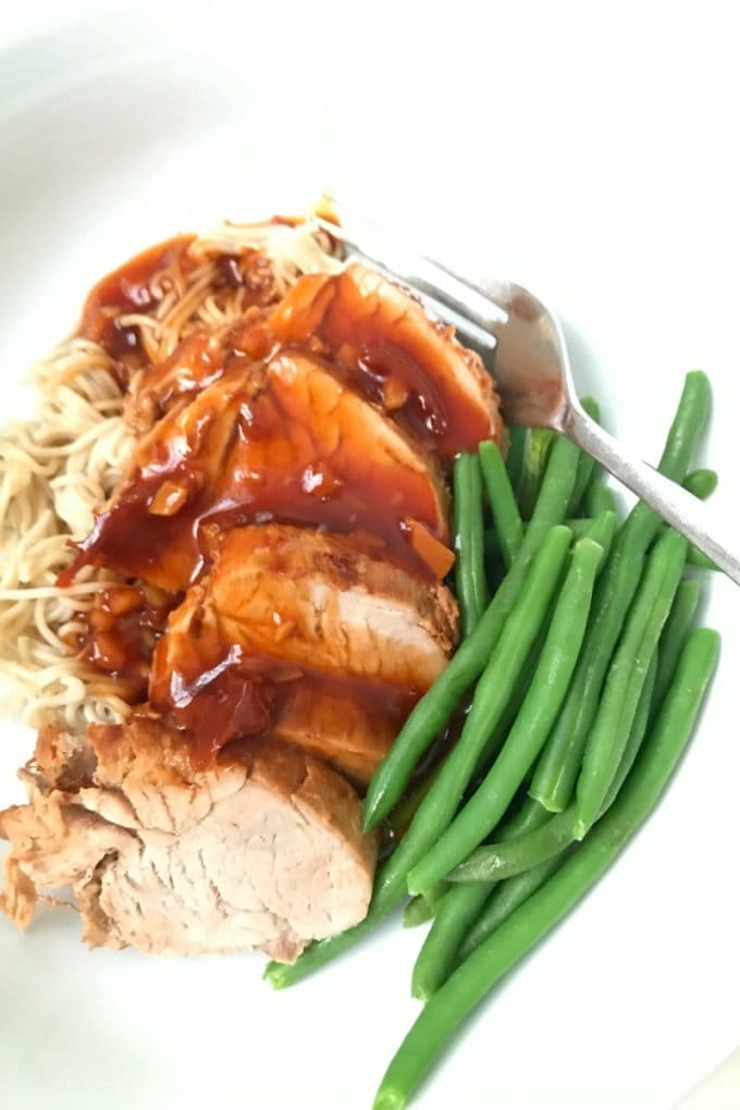 Instant Pot Asian Pork Tenderloin  Confessions of a Fit Foodie
