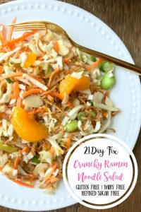 21 Day Fix Ramen Noodle Salad | Confessions of a Fit Foodie