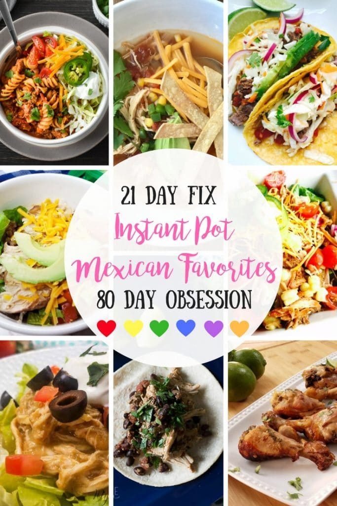 Healthy Instant Pot Mexican Favorites | Confessions of a Fit Foodie