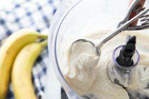 Banana Ice Cream in a Food Processor
