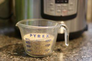 Freezer Friendly Instant Pot Quinoa   Confessions of a Fit Foodie