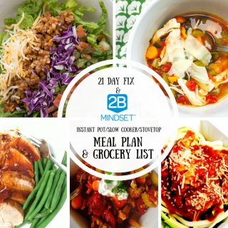 Photo Collage for 2B Mindset Meal Plan