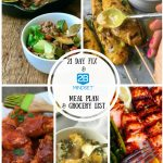 2B Mindset Meal Plan & Grocery List | 21 Day Fix No Yellow Meal Plan & Grocery List