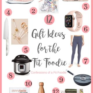 12 Gifts for Fit Foodies | Confessions of a Fit Foodie