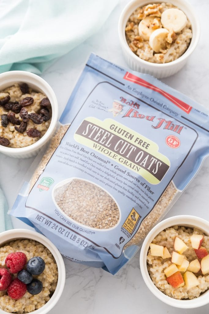 Bob's Red Mill Steel Cut Oats Instant Pot