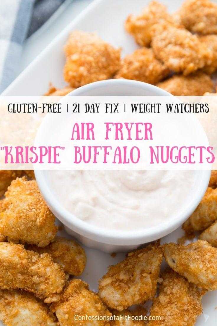 Krispie Airfryer Buffalo Chicken Nuggets 21 Day Fix