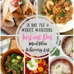 Here's a 21 Day Fix Meal Plan that's perfect for the Instant Pot! Weight Watchers points included, too!And the Jambalaya is AMAZING for Fat Tuesday! 21 Day Fix Meal Plans | Portion Fix Meal Plans | Confessions of a Fit Foodie Meal Plans | Weight Watchers Meal Plans #confessionsofafitfoodie #weightwatchersmealplans #21dayfixmealplans