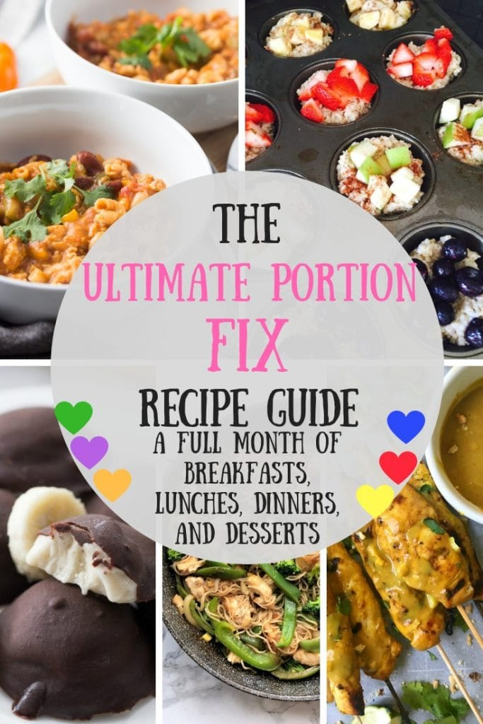 Looking for an Ultimate Portion Fix Recipe for your meal plan?  How about a month's worth?  I have 31 tried and true Ultimate Portion Fix dinners, breakfasts, lunches, desserts and even a whole Ultimate Portion Fix Instant Pot section! 21 Day Fix Recipes | Ultimate Portion Fix Recipes | Ultimate Portion Fix Meal Plan #21dayfix #ultimateportionfix #confessionsofafitfoodie