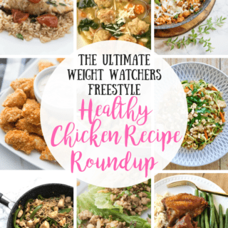 Weight Watchers Chicken Recipe Roundup