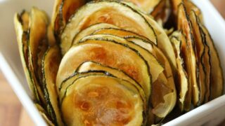 Easy Oven-Baked Zucchini Chips | Table for Two