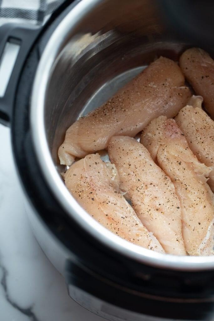 Chicken tenderloins in an instant pot